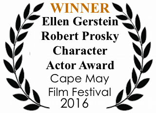 Ellen Gerstein winner of the prestigious Robert Prosky Character Actor Award