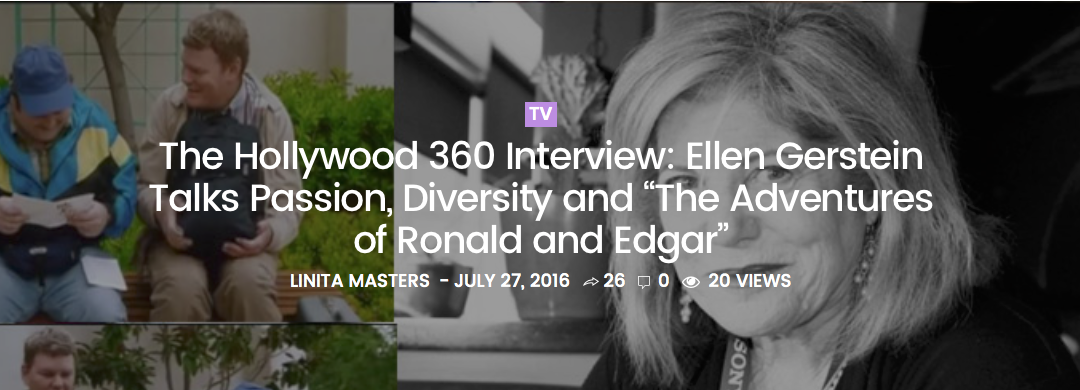 The popular Hollywood 360 interview with Lanita Master who is always in the know!